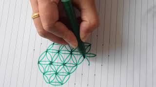 Sacred Geometry - how to draw Flower of life