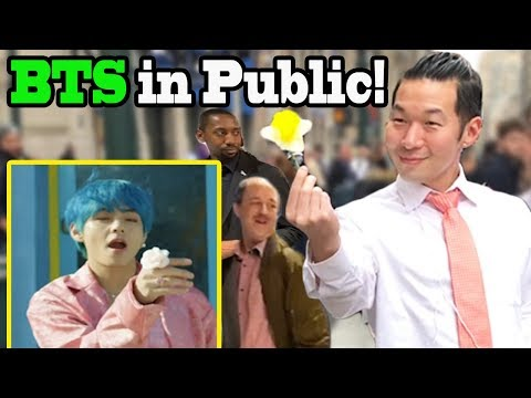 "BTS ""Boy With Luv"" Feat Halsey - BTS Dance In Public!!"