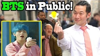 "Baixar BTS ""Boy with Luv"" feat Halsey - BTS Dance in Public!!"