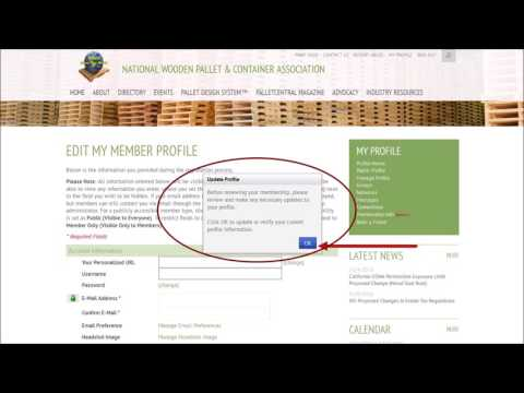 Renew Membership Tutorial