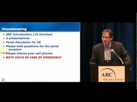 The Industrial Energy Optimization Opportunity, by ARC's Peter Reynolds at ARC World Forum 2013