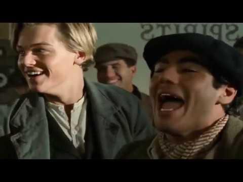 Titanic Scene - Jack Wins the Tickets