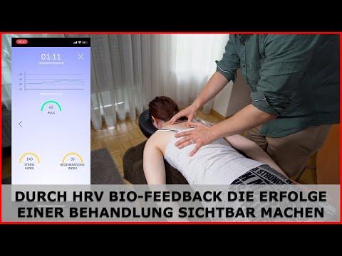Die HRV Bio-Feedback Methode zeigt wie effektiv eine GANZHEITLICHE THERAPIE auf den Körper wirkt