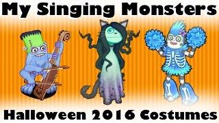 My Singing Monsters - Halloween 2016 Monster Costumes