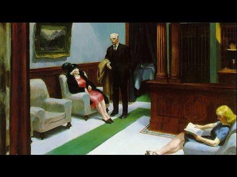 Edward Hopper: Hotel Lobby