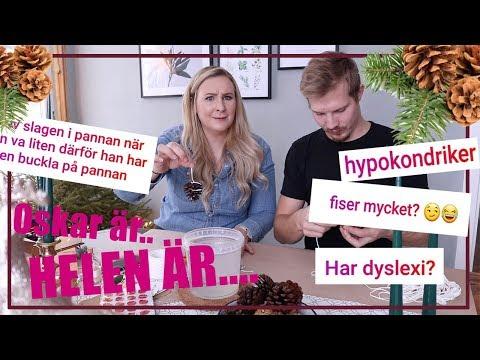 Helen...har dyslexi?| DIY JULPYSSEL/KLAPP