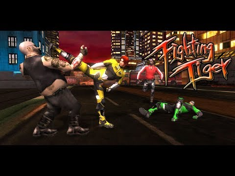 Fighting Tiger  For Pc - Download For Windows 7,10 and Mac