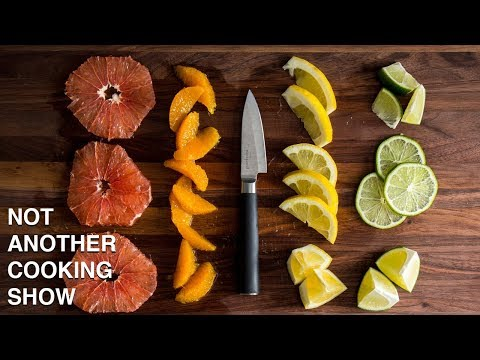 HOW TO CUT CITRUS FRUIT