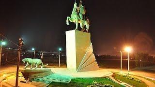 Місто ОШ від центру до ХБК - Аеропорт і до Араванской