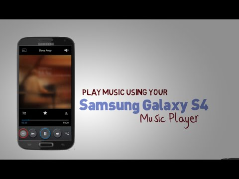 Galaxy s4 - Play music using your Samsung Galaxy S4 Music Player