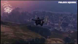 GTA Online Project flying squirrel