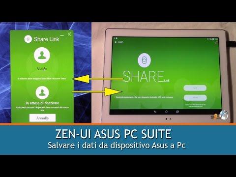 ZENUI PC SUITE | Salvare i dati da dispositivo Asus a PC