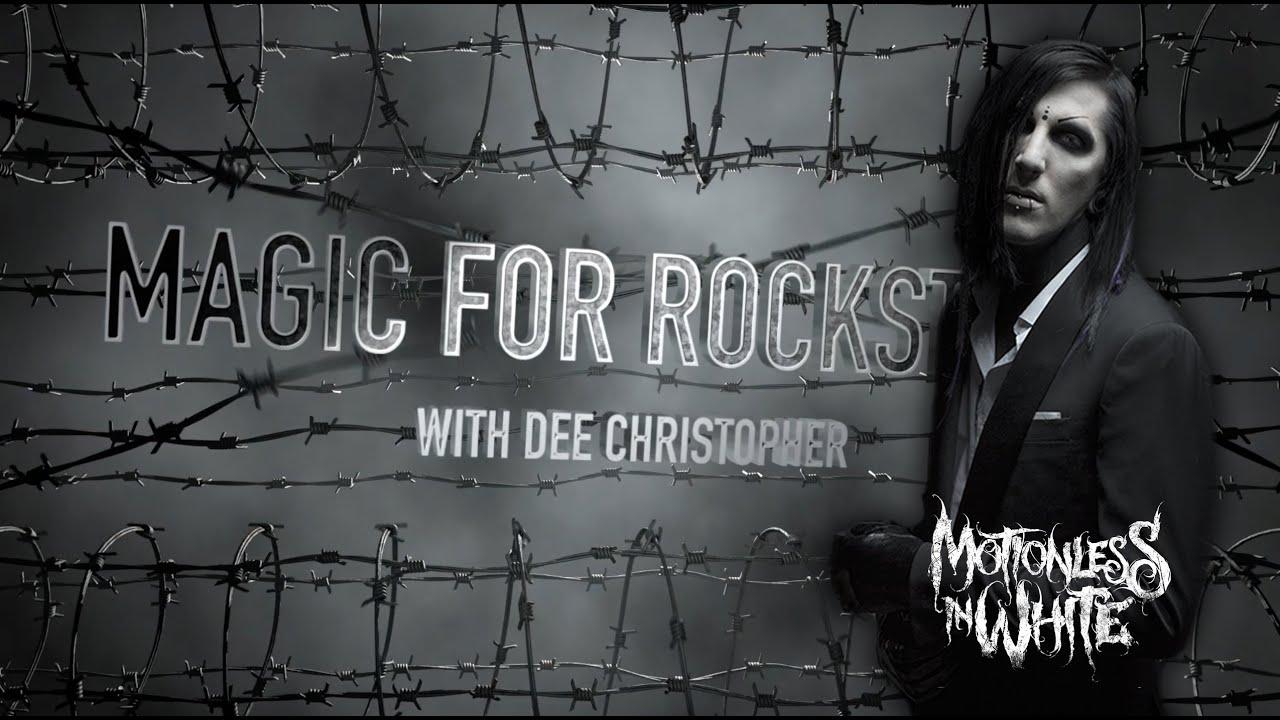 Magic For Rockstars: Chris Motionless - YouTube