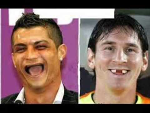 Ronaldo Vs Messi Versi Lucu Youtube