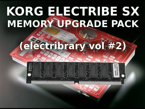 Upgrade Your Korg Electribe SX Sampler (Electribrary Vol #2)