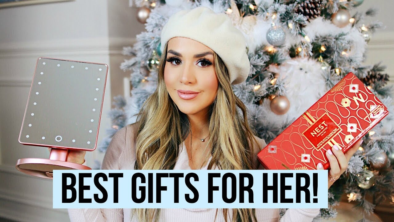 BEST CHRISTMAS GIFTS FOR HER 2017 | ALEXANDREA GARZA - YouTube