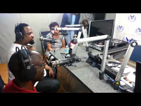 Hezekiah Walker visits CITA Radio 90.1 FM Barbados