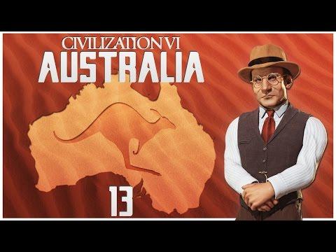 Civilization 6 as Australia - Episode 13 ...Peace, Please...