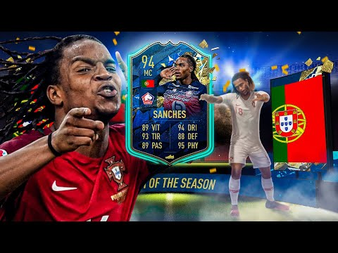 FUT20 - TOTS REVIEW : RENATO SANCHES (94) - ULTIMATE TEAM
