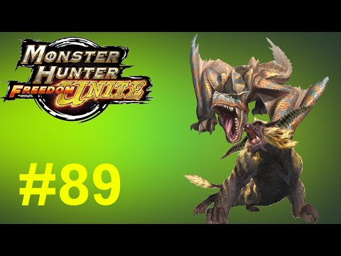 Monster Hunter Freedom Unite - Online Quests -- Part 89: Brute Force