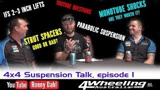 4x4 Suspension Talk, episode 1