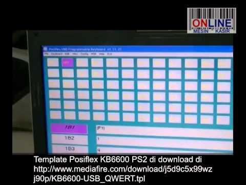 Posiflex KB6600 Cara Setting dan Test
