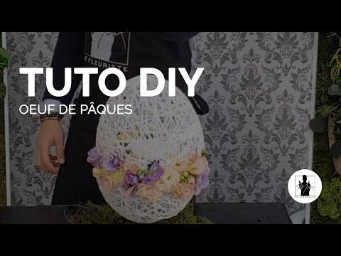 TUTO - Composition florale de Pâque - Max le fleuriste