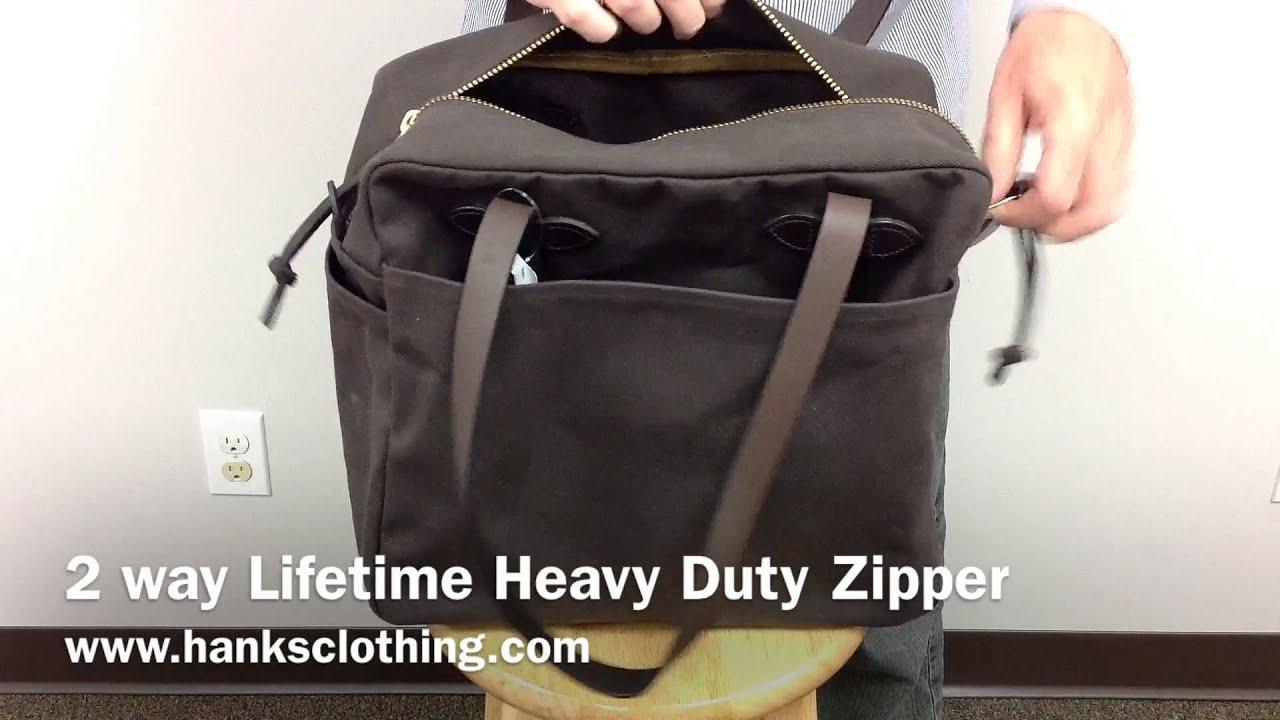 Filson 70261 Zippered Tote Bag