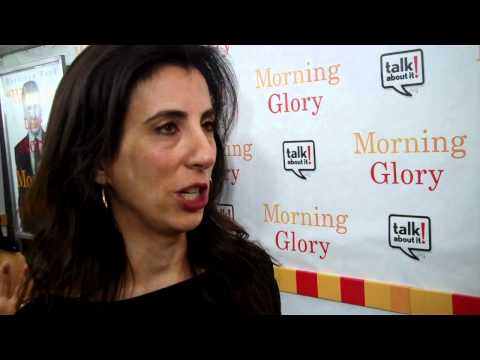 "Screenwriter Aline Brosh McKenna at NYC Premiere of ""Morning Glory"""