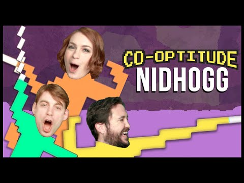 Warning: audio issues still going on. It will be back to normal next week.** Felicia Day and Ryon Day are joined by Wil Wheaton as they battle it out in Nidhogg ...