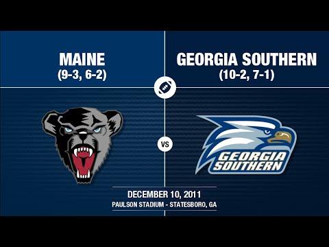 2011 Week 15 - Maine at Georgia Southern