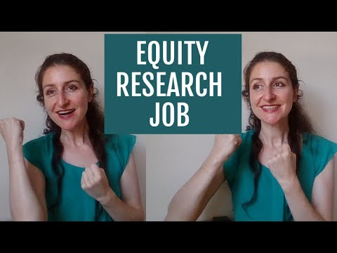 How do I Get Into Equity Research?