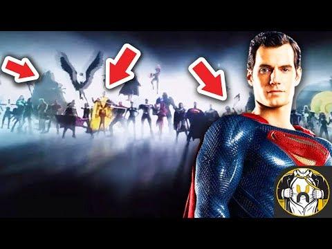 Wonder Woman Intro REVEALS Hero Roster for DCEU & Breakdown