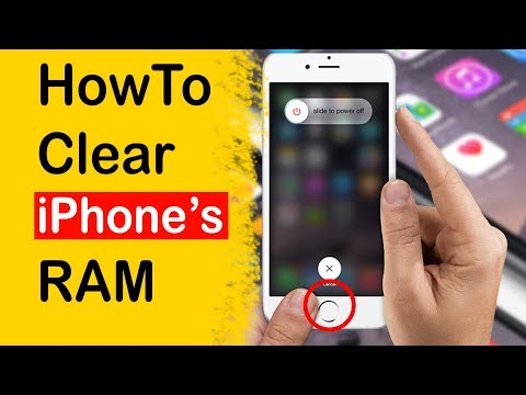 How to Clear iPhone RAM Memory - iPhone 7/7plus 8/8plus/max/xs