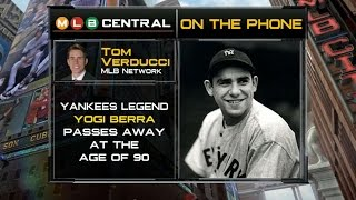 Tom Verducci calls MLB Central to remember Yogi Berra