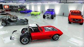 Présentation de Mes Garages de Véhicule Modder sur GTA 5 Online !