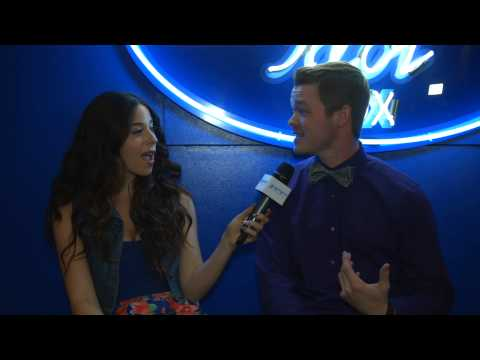 Michael Simeon American Idol Interview 4/22/15