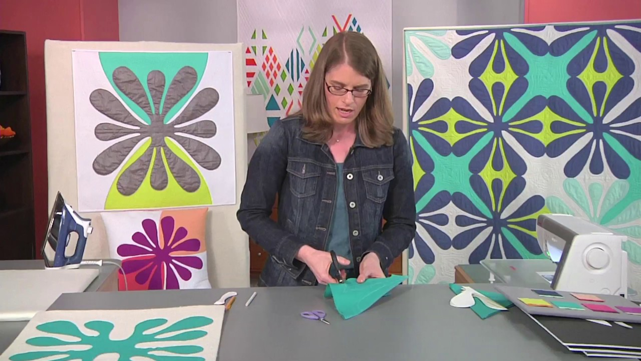Designing your own hawaiian inspired patterns on fresh quilting with
