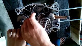 yamaha lagenda SRL110 engine assembly 2