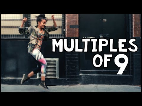 Multiples of 9 Dance Song  a 9 Times Tables Rap 2018
