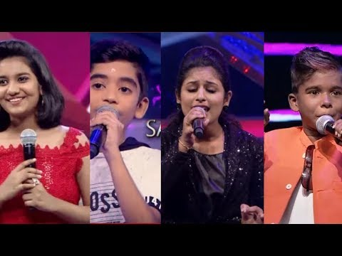 Super singer 6 Juniors / Top 5 contestants / 3rd March / Vijay Television