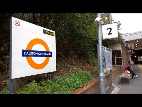 Dalston Kingsland Train Station