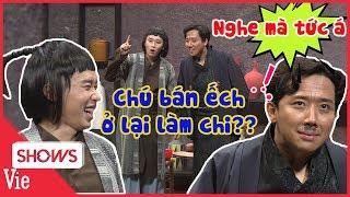 Trấn Thành bắt trend hỏi Kay Trần