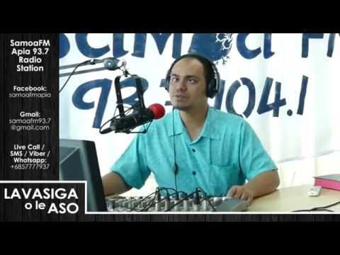 SamoaFM Apia - Lavasiga o le Aso 01