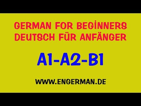 German For Beginners - Deutsch für Anfänger