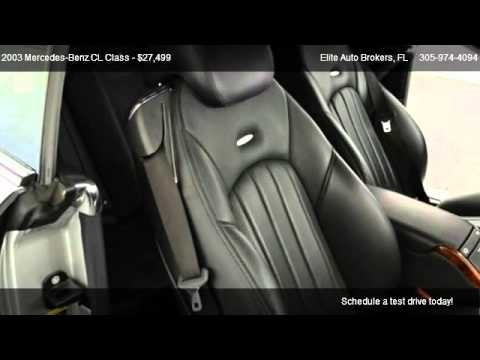 Mercedes Benz Cl Class Cl55k Amg Elite Auto Brokers Youtube