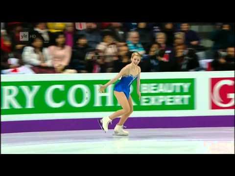Gracie Gold - 2013 World Figure Skating Championships - Free Skating - Real HD video