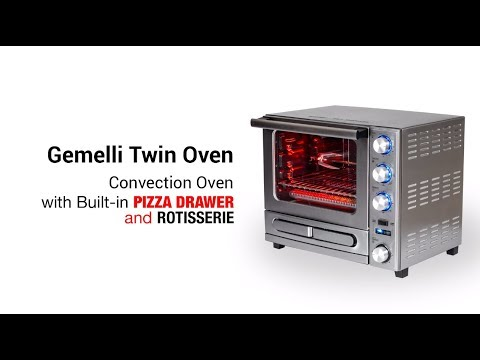 The Gemelli Twin Oven is just $280, the lowest you'll find on the web