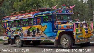 Philippines Sidecars / Tricycles - Jeepneys Filipijnen Phillipines Philipines Phillippines LV