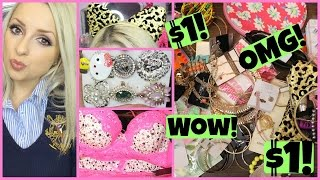 Everything Is $1 HAUL!! Jewelry, Makeup & More!!!!